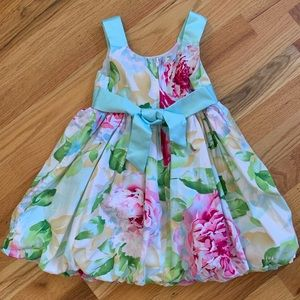 Jessica Ann Dresses - TODDLER- JESSICA ANN Floral Dress Sz 3T EUC!